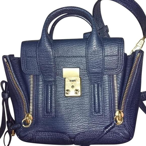 83e00a7ea 3.1 Phillip Lim Bags | 31 Phillip Lim Mini Pashli Navy Bag | Poshmark